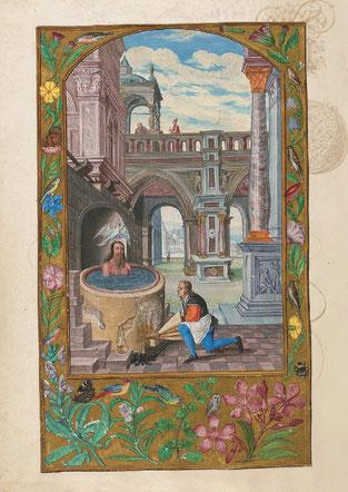 La Décoction, f. 21v. Temple de Paris