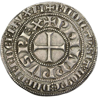 Philippe IV le Bel (1285-1314), Gros tournois à l'O rond - Temple de Paris