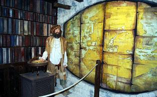 De Venise à Pékin, Marco Polo a emprunté de mlultiples routes terrestres et maritimes. Temple de Paris.