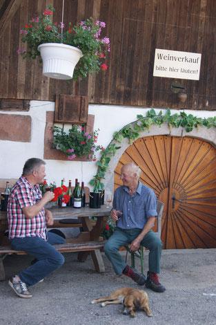 Weinprobe Weingut Oberkirch