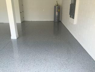 textured garage floor