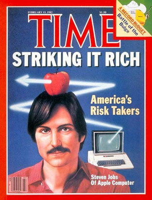 "Portada ""Time"" 1982 -  Steve Jobs"
