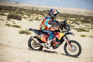 Hiasi Walkner bei der Rally Dakar