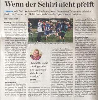 Artikel - Mitteldeutsche Zeitung v. 11.6.2019