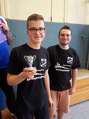 Bester U18 Spieler: Nils Mettegang (Gevelsberg)