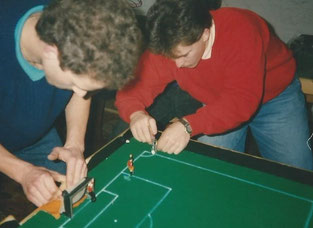 Dauerbrenner Siggi Gies vs Thommy Otto - Beide wechselten sich im alten Jahrtausend mit den VM Titeln ab