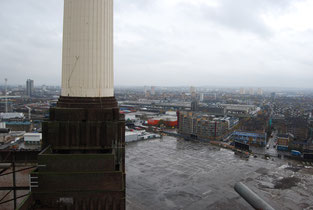 Regeneration and sustainability of 'Wasteland' South of the Battersea Power Station Photo by Heidi Mergl Architect