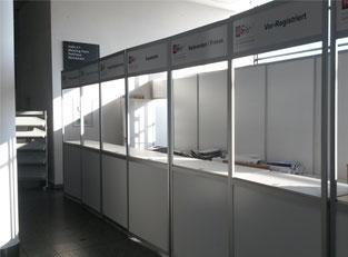 Counter zur Registrierung, Dt. Bibliothekarstag Bremen