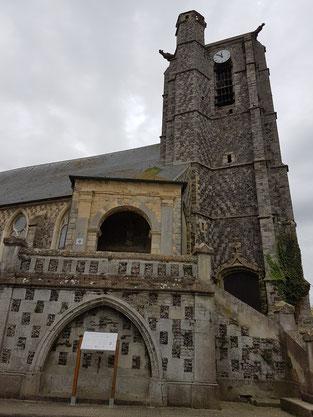 BAIE DE SOMME, l'église de AULT