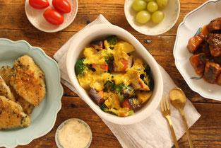 藤野料理教室にじ 豆乳チーズフォンデュ