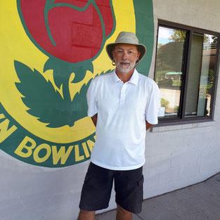 Photo of men's singles champion, Ted Merritt