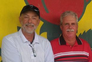 Photo of men's pairs club champions