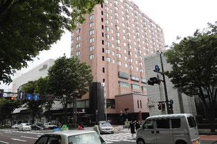 例会場のある金沢エクセルホテル東急