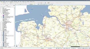 Beispielscreenshot zum WebatlasDE in QGIS 2.18