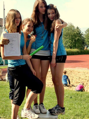 Staffel-Kreismeisterinnen