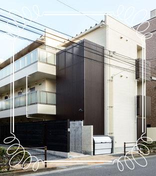 新築分譲マンション14世帯「パルゼパークサイド吉祥寺」