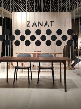 dieartigeBLOG - IMM Cologne 2019 | Schwarz, Grau + Holz bei Zanat