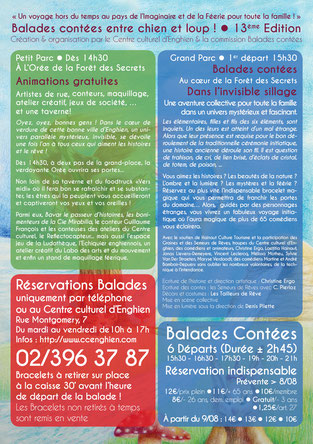 Affiche des Balades contées 2017