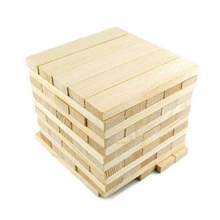 Дървен конструктор 60 части
