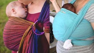 бебе в слинг