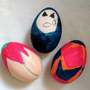 Дървени играчки яйца за боядисване
