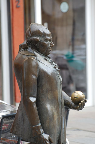 Georg Christoph Lichtenberg Denkmal/Statue in Göttingen