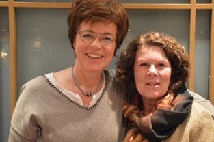 Elke Husung und  Heike Krause