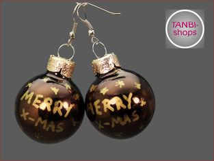 Ohrringe,Weihnachten,Adventskalenderfüllung,Nikolaus,Weihnachtsohrringe,Merry x-mas,Adventsschmuck