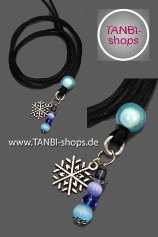 Kinderkette, Schneemann, Schneeflocke, Schnee, Winter, Winterkette, Halskette