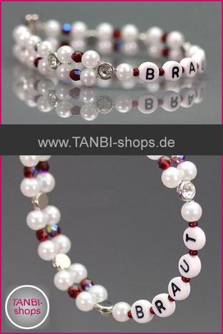 Armband, Braut, Brautaccessoire, 17.50