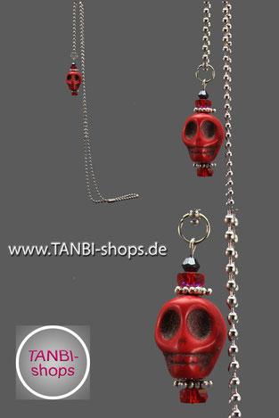 Fasching, Karneval, Skull, Totenkopf, Kette, Accessoire, närrische Zeit, Faschingsverkleidung, Faschingsaccessoire
