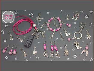 Adventskalender, Mädchen, Mädchenkalender, Schmuckkalender, Mädchenadventskalender, Schmuckset, Weihnachtsschmuck, rosa, pink