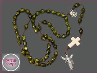 Jungenrosenkranz,Rosenkranz,Kinderrosenkranz,Rosenkranzkette,Kreuz,Jesus,Anhänger,19.99
