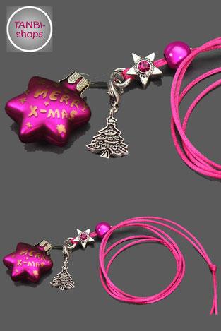 Weihnachtskette, Kinderkette, Weihnachtsgeschenk, Nikolausgeschenk, Weihnachtsbaum, merry x-mas