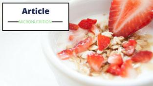 Micronutrition perte de poids