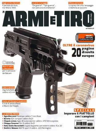 Recensione di Armi e Tiro aprile 2020 sulle guancette TR1