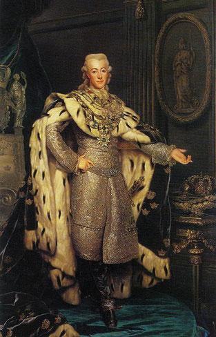 Schwedenkönig Gutsav III.