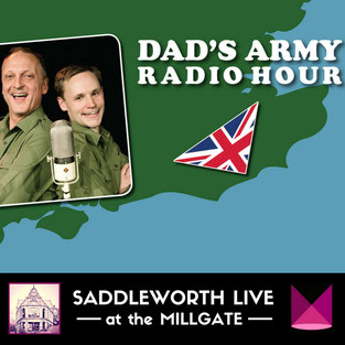 Dad's Army Radio Hour - Two actors play 25 characters in this brilliant staging of classic radio scripts based on favourite episodes from the original TV series. Millgate Arts Centre, Saddleworth, Manchester