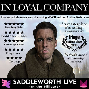 In Loyal Company is the incredible true story of missing WW2 soldier, Arthur Robinson.