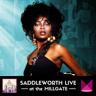 Patti Boulaye sings Billie Holiday at the Millgate in Delph on Sun 29 April