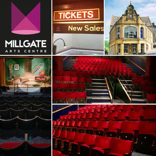 The Millgate Arts Centre has a raked auditorium seating 158 people.