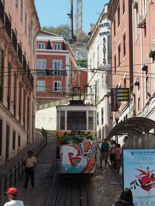 Straßenbahn, Lissabon, Portugal
