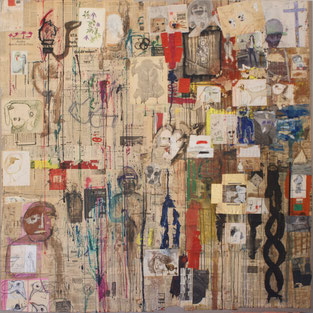 SOLD «Collection» 200x200cm
