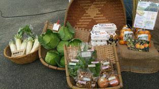無農薬の野菜達も入っています♪