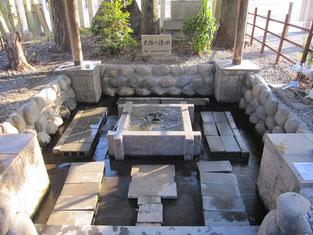 大垣八幡神社「大垣の湧水」