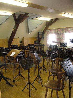 Proberaum Musikverein Hainersdorf, Hainersdorf, Musikverein