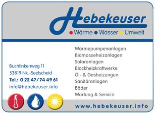 Hebekeuser Wärme Wasser Umwelt Franz-Josef