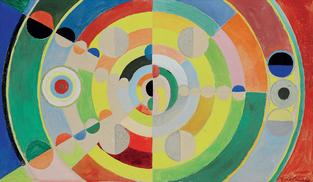 """""""Relief-disques"""", 1936 par Robert Delaunay"""