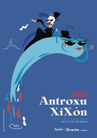 Programa del Antroxu de Gijón