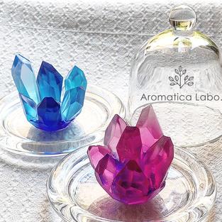 水晶宝石石鹸クラスタsoap手作り教室アロマティカ